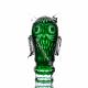 Хрустальное декоративное изделие «Филин» средний цв.зеленый