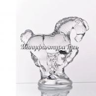 Хрустальное декоративное изделие «Лошадь»