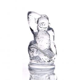 Хрустальное декоративное изделие «Обезьянка»