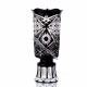 Хрустальная ваза для цветов «Апрель» цв.черный