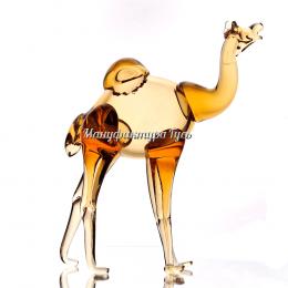 Хрустальное декоративное изделие «Верблюдг» цв.янтарный
