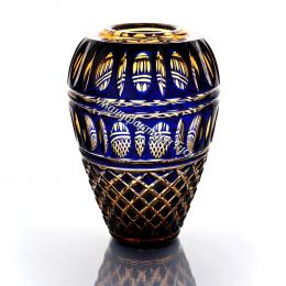 "Хрустальная ваза для цветов ""Каскад""бол. рис.""Произвольный"""