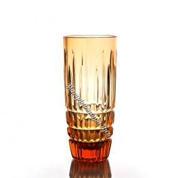 Хрустальный стакан серии «Бутон» 6шт., цв. янтарный