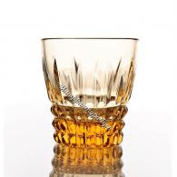 """Хрустальный стакан для напитков """"Ноготок"""" рис. «Медовый спас»"""