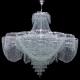 """Люстра хрустальная Лотос """"Пион"""" диаметр 1500мм 36 ламп"""