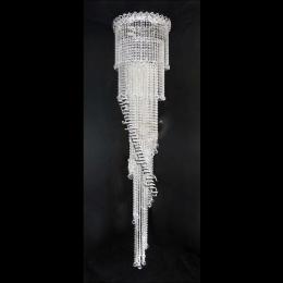 Люстра хрустальная Винтаж (Шар-Пирамида 30) диам. 450 мм