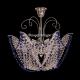 Люстра хрустальная Орхидея №3 цветная