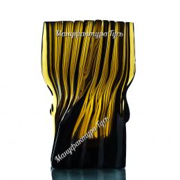 Хрустальная ваза для цветов «Архитектон» средняя