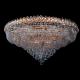 Люстра хрустальная Кольцо + пирамида 1000 мм шар