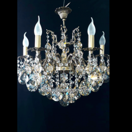 Люстра бронзовая Мелания 6 ламп Супра