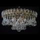 Люстра хрустальная Катерина  шар 30,40 мм под бронзу