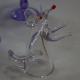 Хрустальный бокал «Крыса» с лапками