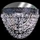 Люстра хрустальная Акация шар 30,40 мм зеленая (с зеркалом)