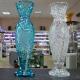 Хрустальная ваза для цветов «Нарцисс», высокий