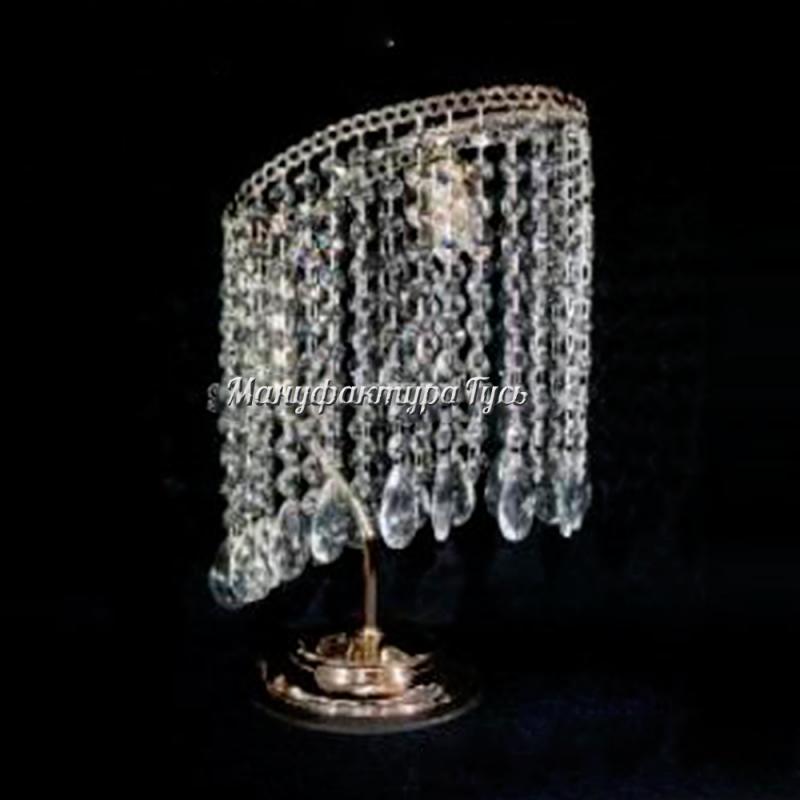 Настольная лампа Стиль камень журавлик