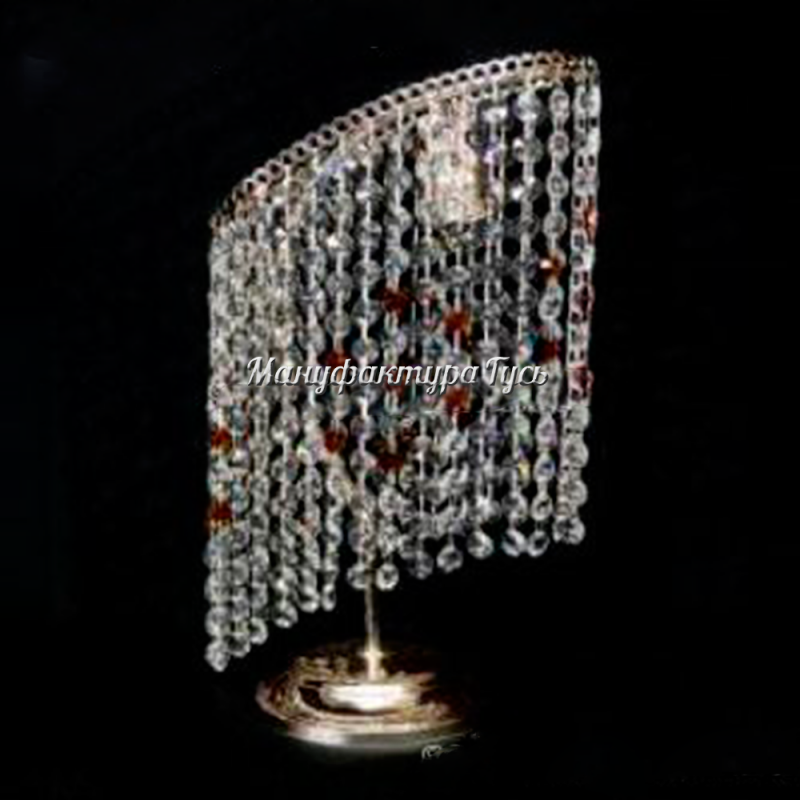 Настольная лампа Стиль камень обтикон цветной